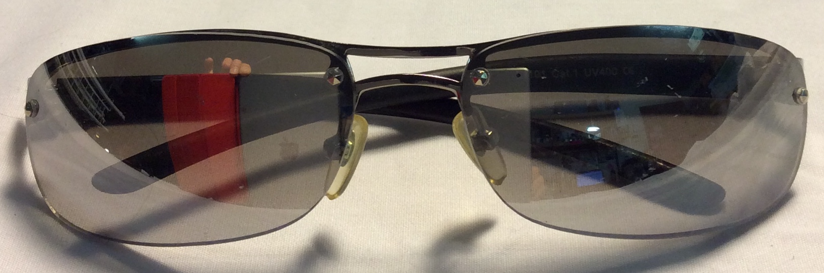 Thicker charcoal metal frames