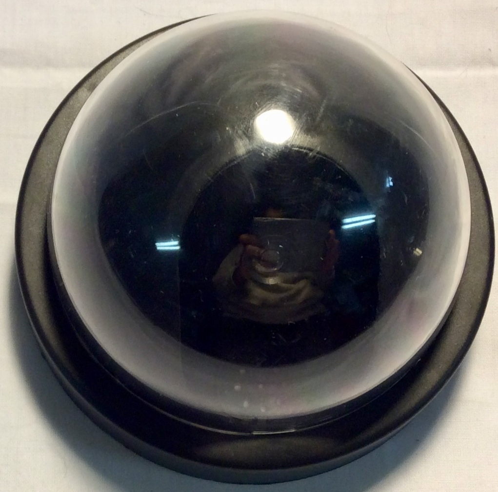 Round black battery operated