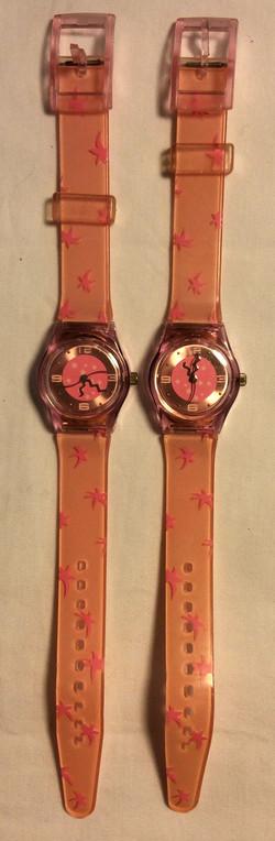 Pink Stars Watch