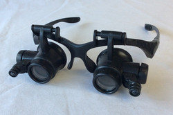 Custom magnifying glasses with light attachments (Working)