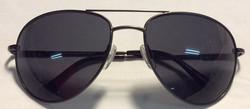 Suntec Grey metal frames, black