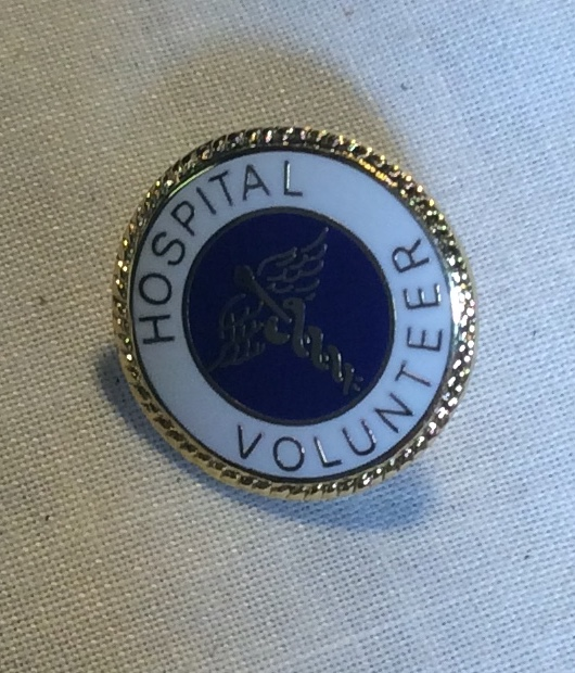 Hospital Volunteer Pin