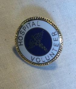 Hospital Volunteer Pin
