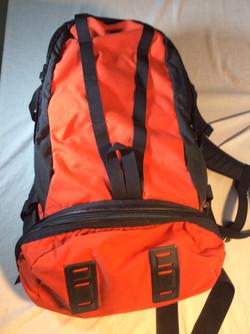 Old Orange Backpack