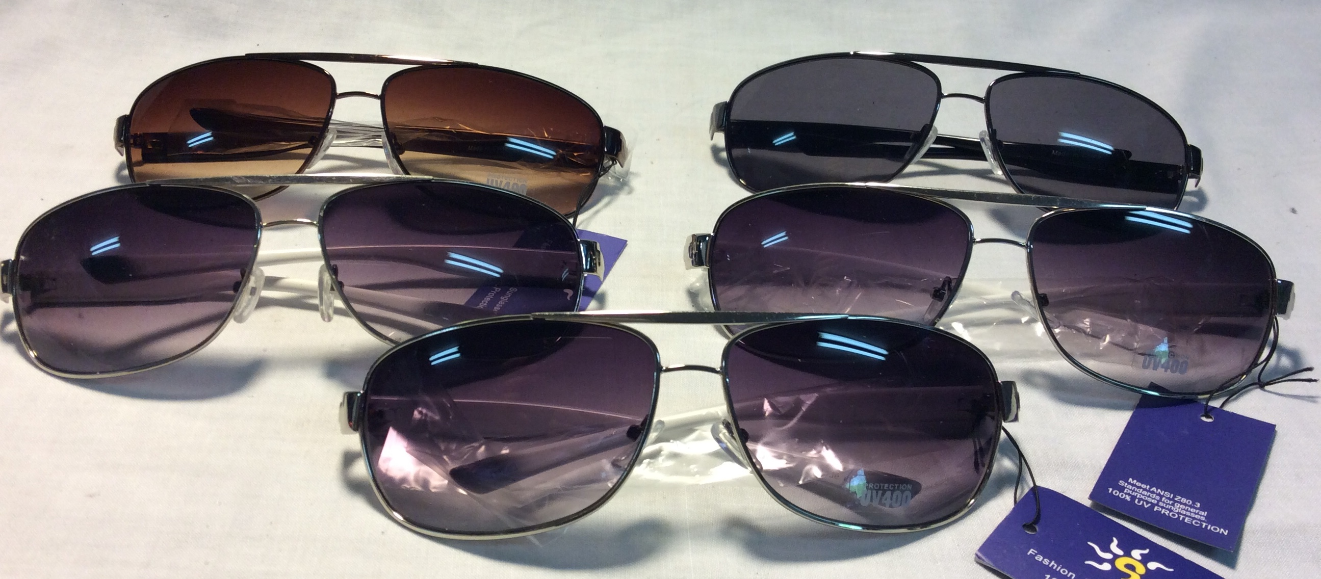 Sunglasses (various colours)