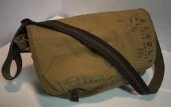 Brown cloth shoulder bag (Bored Inc)