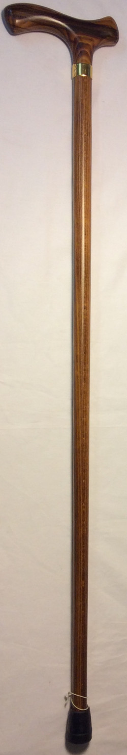 Harvy Solid marble wooden cane, gold