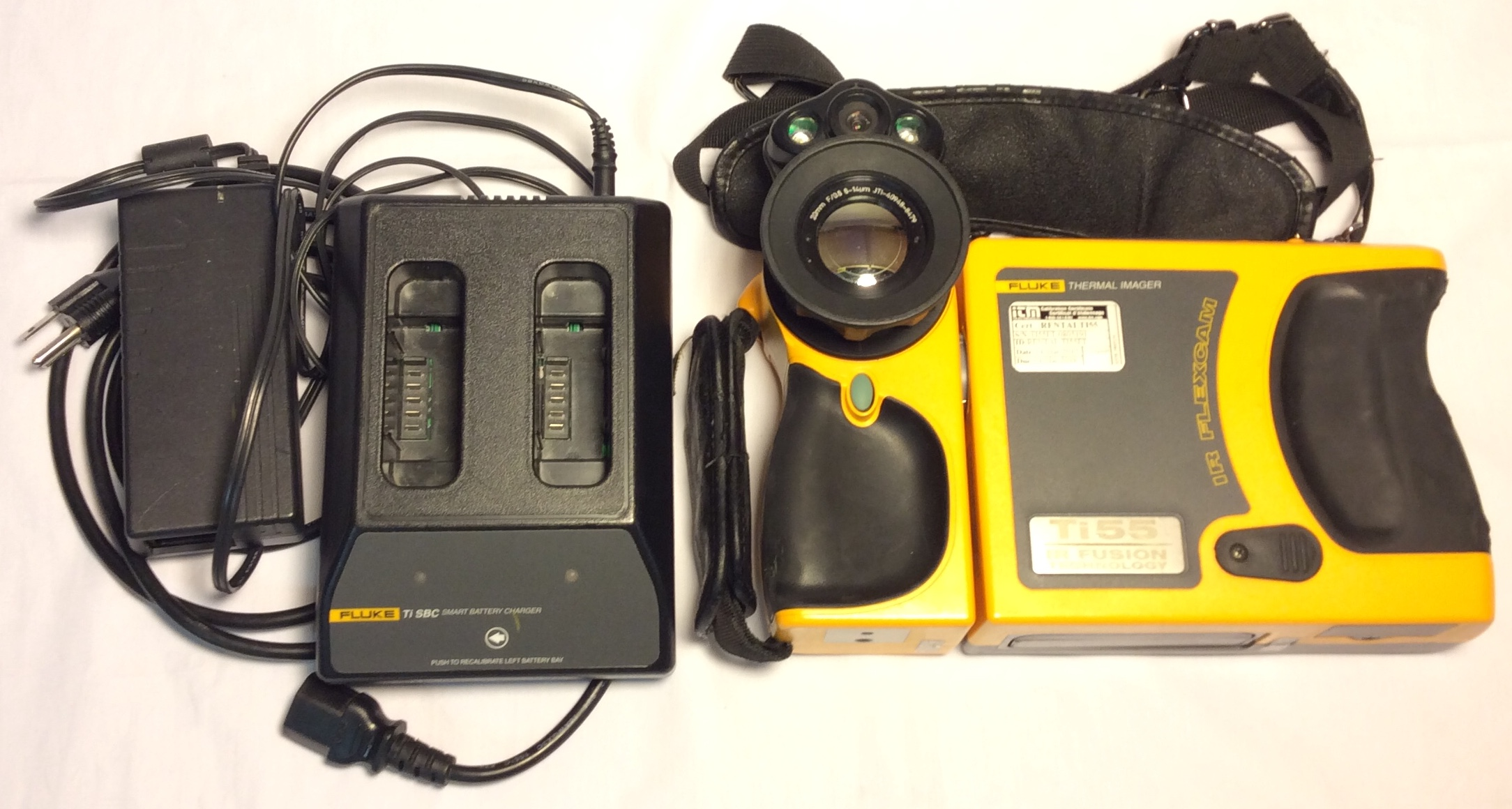 IR Flexcam Antique Yellow Thermal