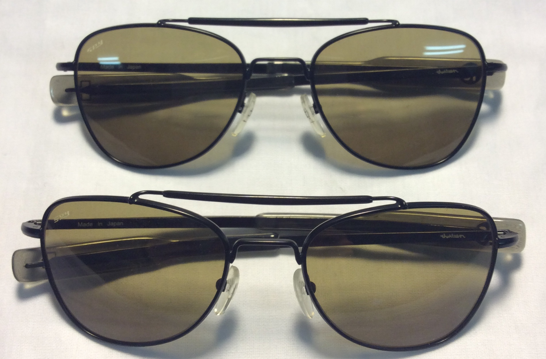 Spy/Justeen Black metal frames
