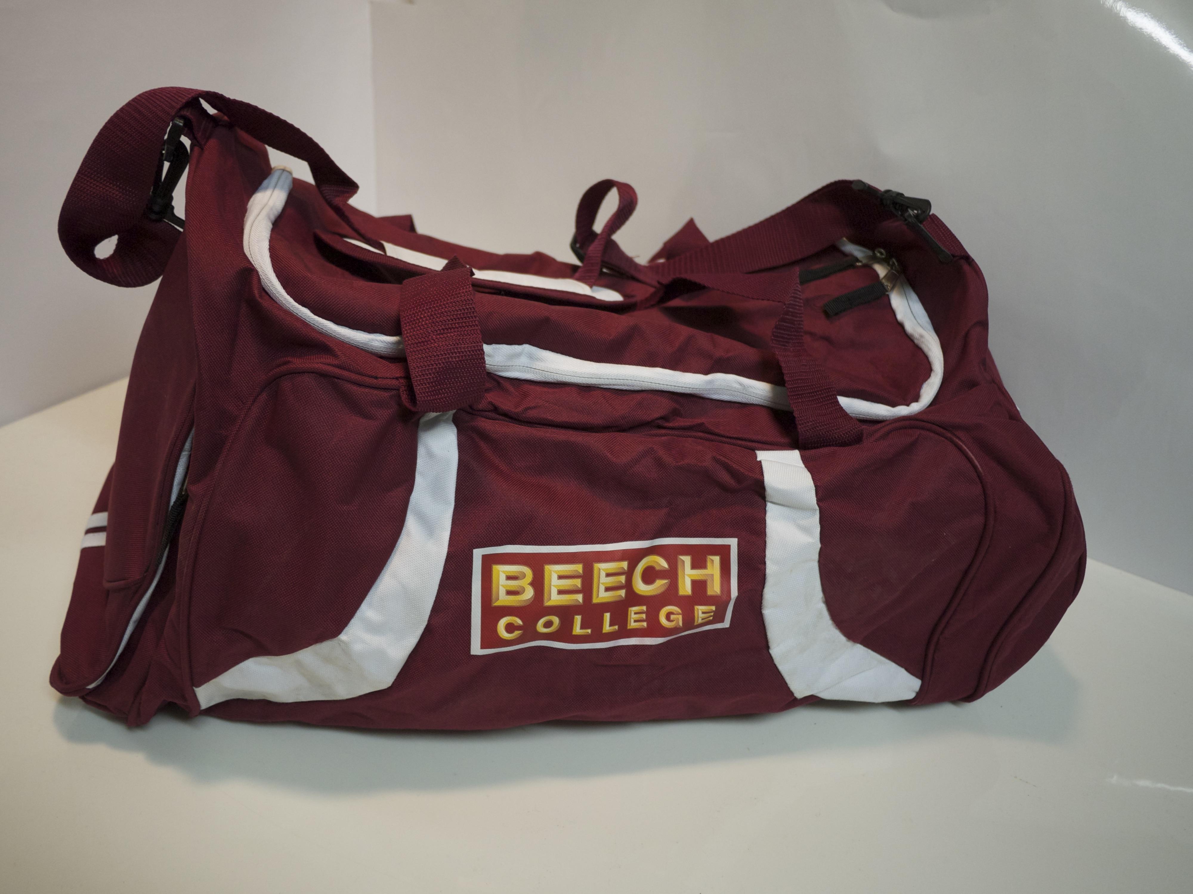 Maroon team bags