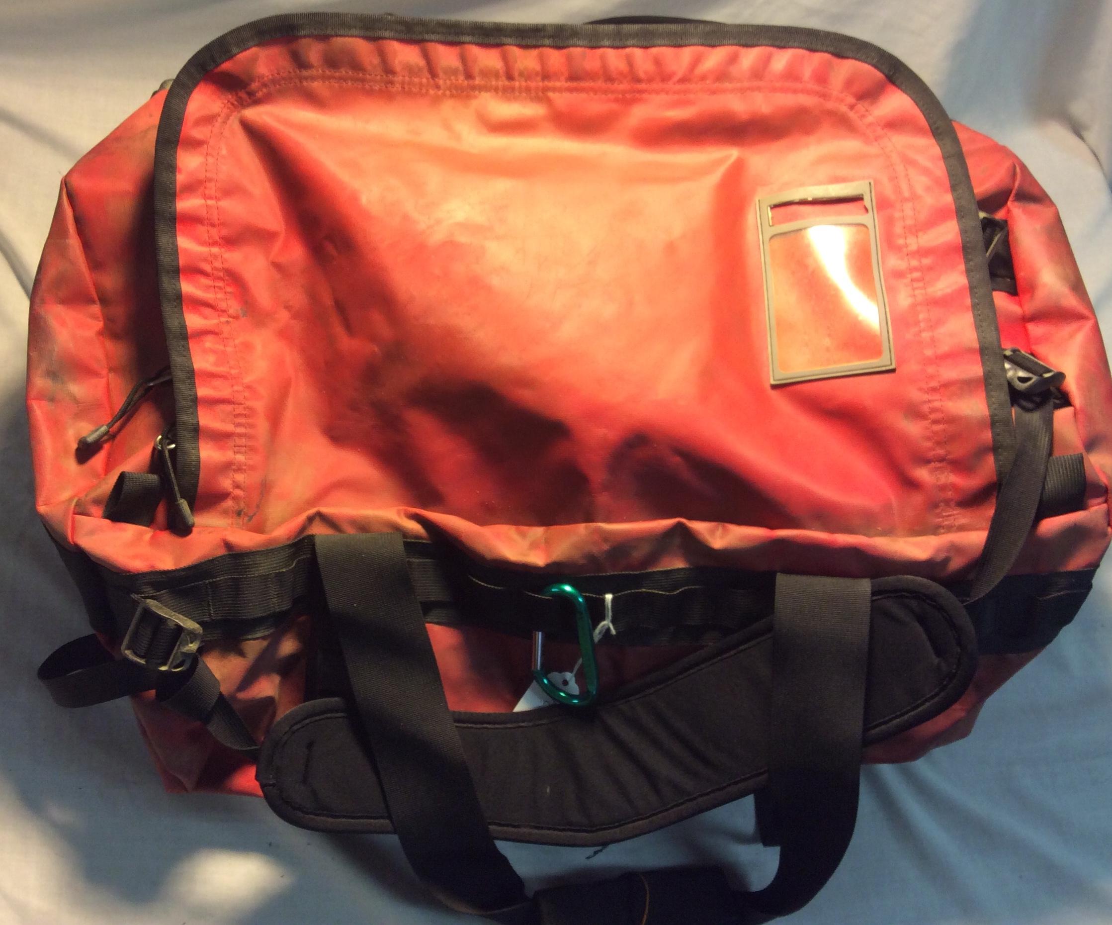 Waterproof Red Travel Bag