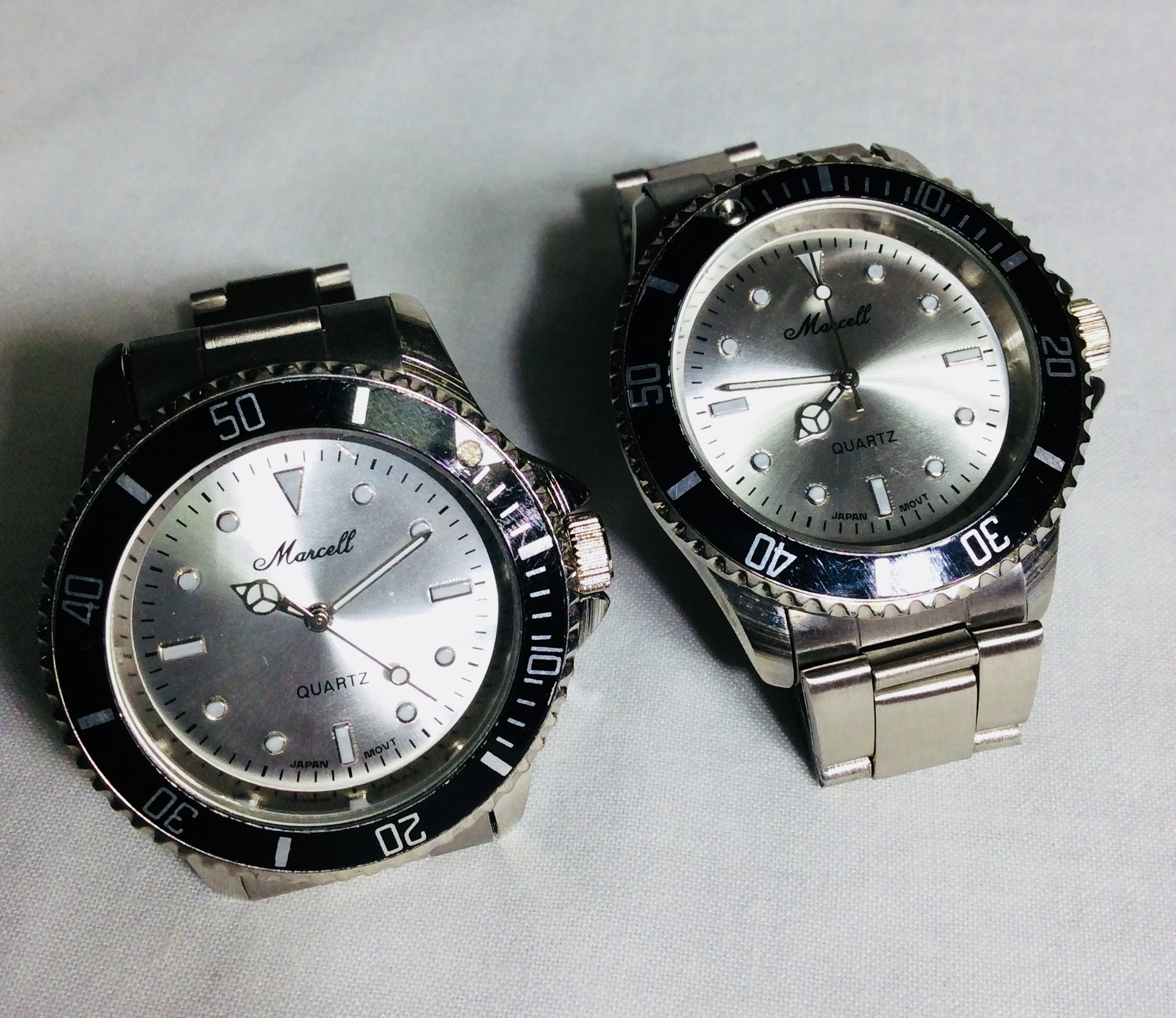 Marcell silver watch