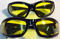 Global Vision Sport style sunglasses with yellow anti-fog lenses