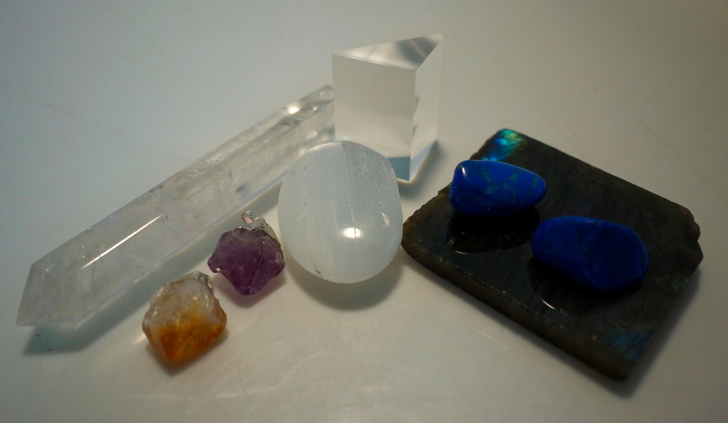 Crystals and Precious stones