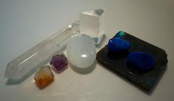 Crystals and Precious stones