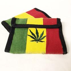Rastafarian woven wallet