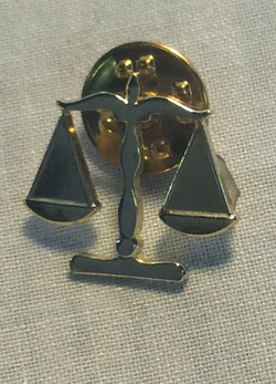 Justice of the Peace Pin