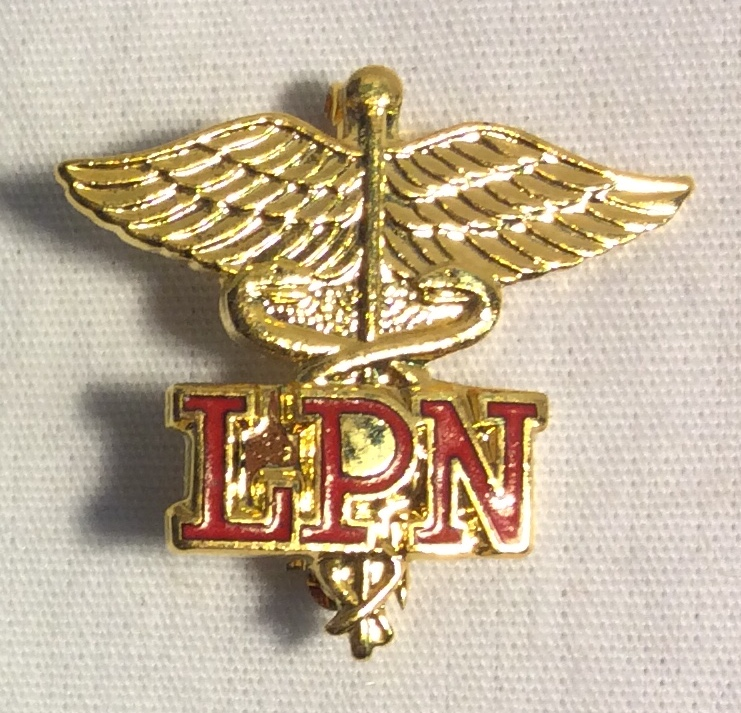 LPN (Licensed Practical Nurse) pin