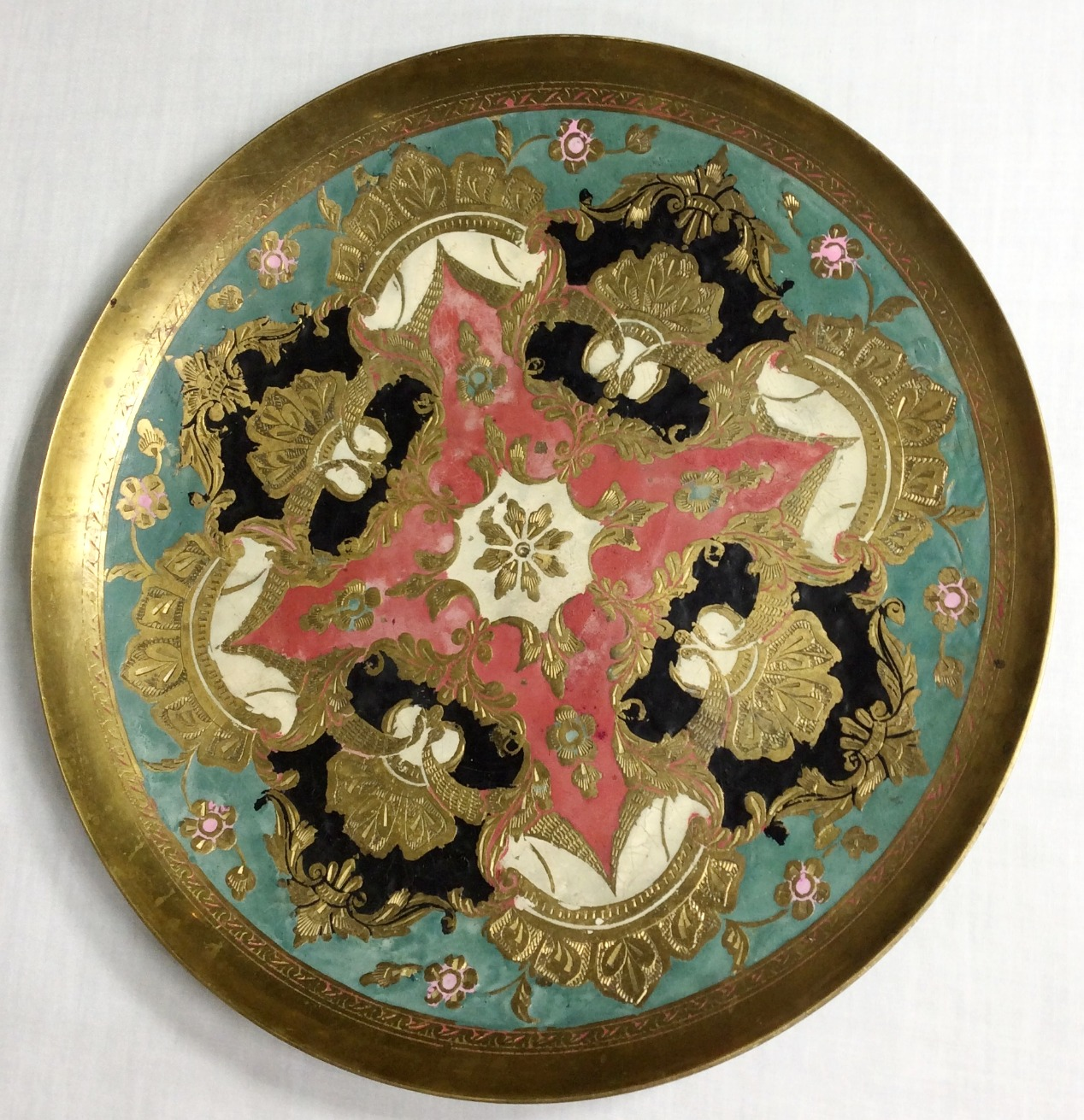 Brass Serving Plate