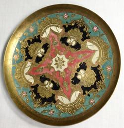 Brass Serving Plate
