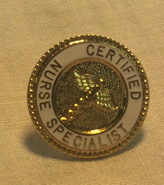 Certified Nurse Specialist Pin