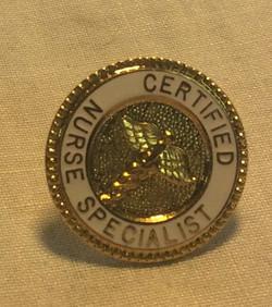 Certified Nurse Specialist Pin