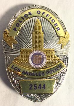 LA Police Badges