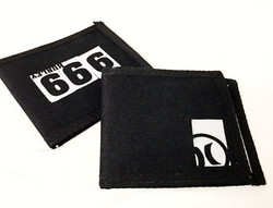 Black/White Hurley Wallet