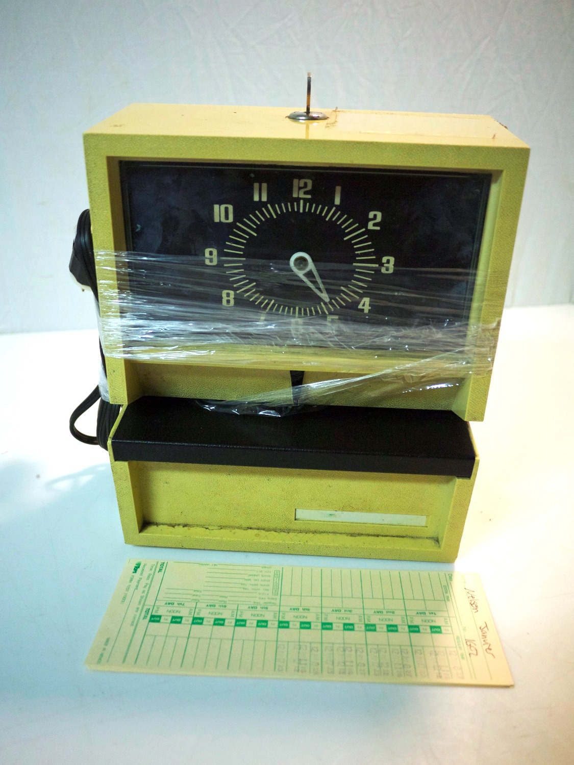 Retro Punch Clock