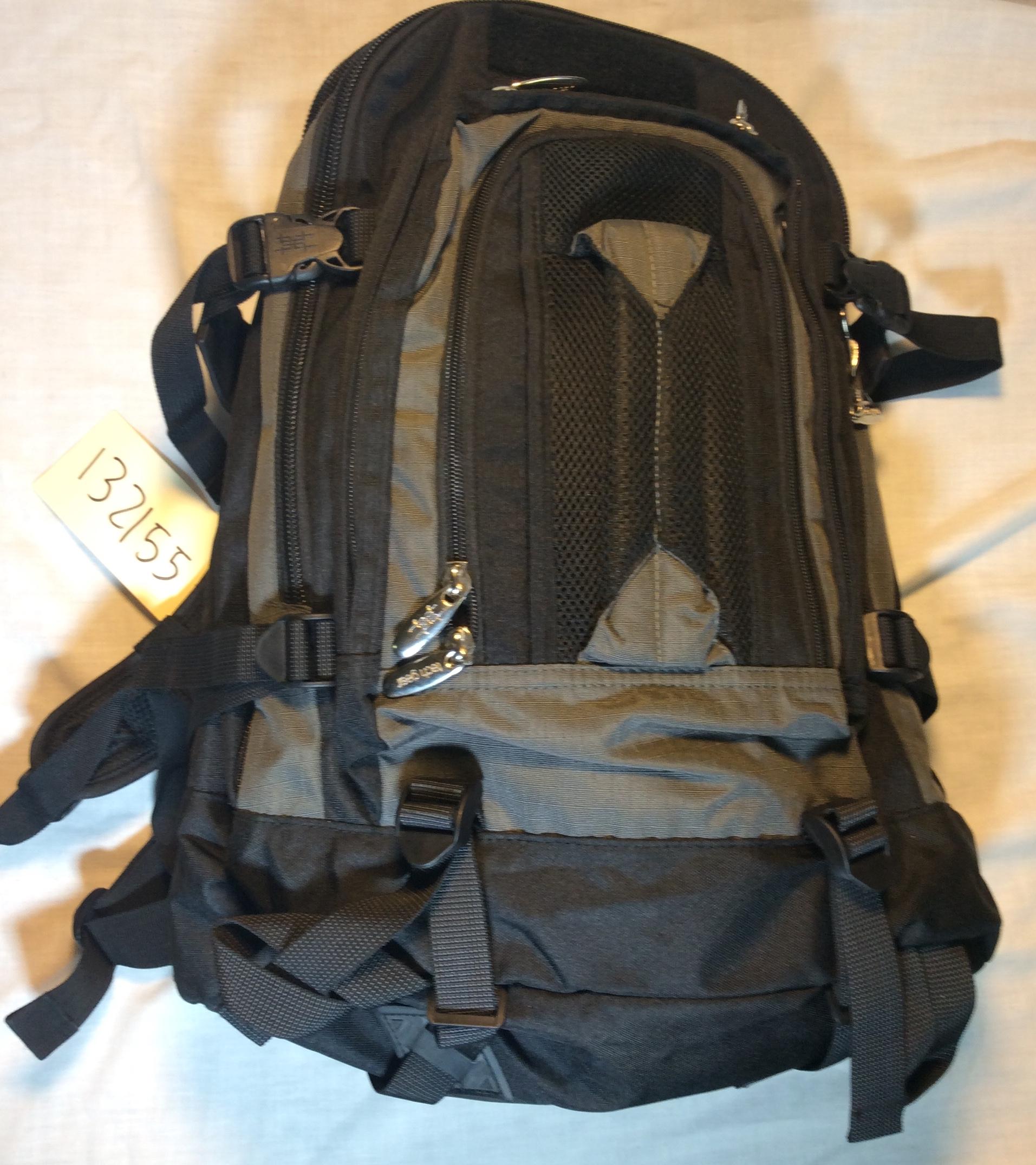 Black and Grey School Bag