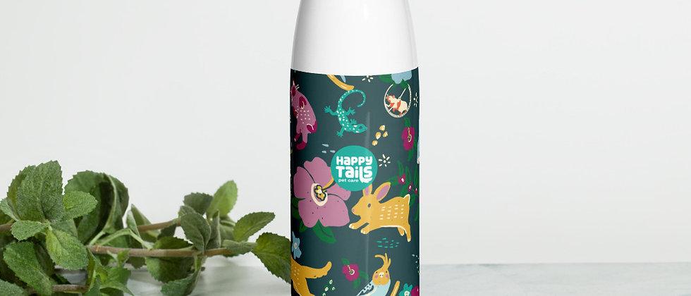 Happy Pets Stainless Steel Water Bottle