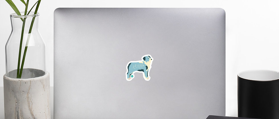Happy Pup Bubble-free stickers