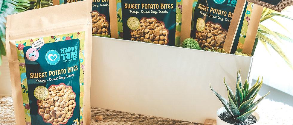 Freeze-Dried Sweet Potato Dog Treats
