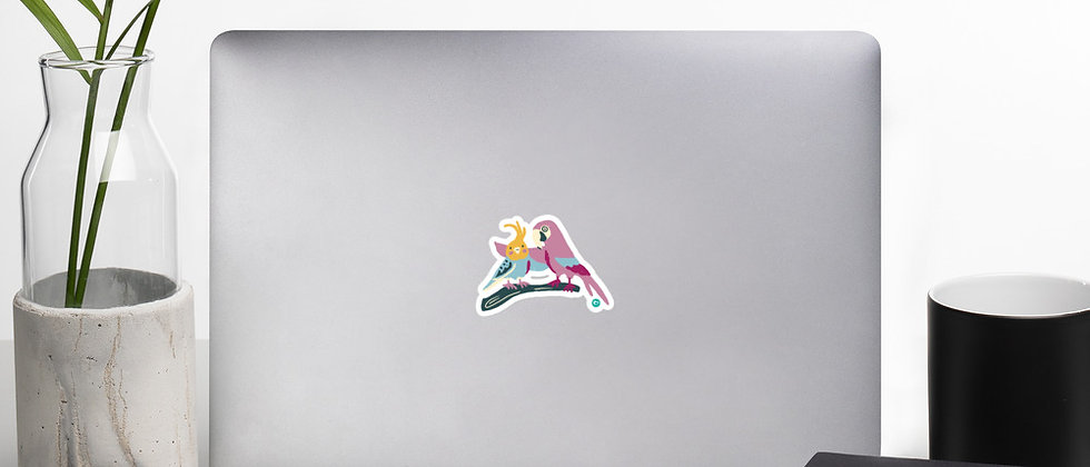 Birds of a Feather Bubble-free stickers