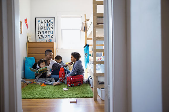 How to Make Your Child Feel at Home in Your New House, After the Divorce