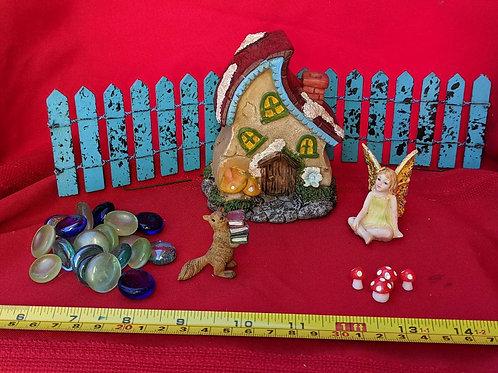 Whimsical Fairy House Set