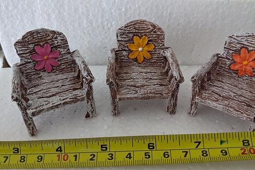 Fairy Garden Chairs (Set of 3)