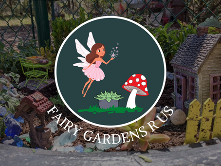 Welcome To The Fairy Gardens R Us Blog!