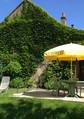 Terrasse de la maison du Pinson