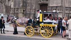 mariage devant la cathédrale de Tours