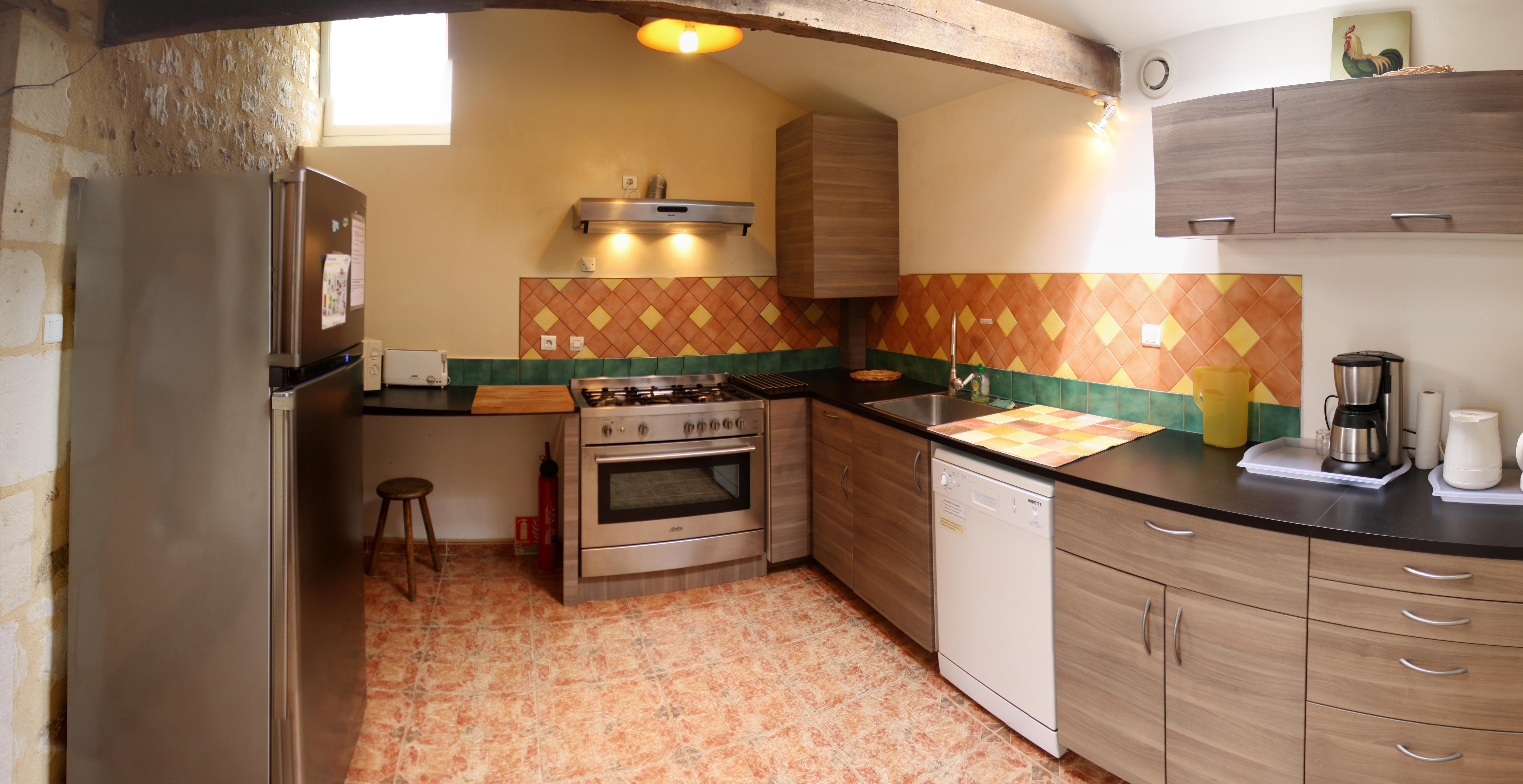 Une cuisine moderne et pratique