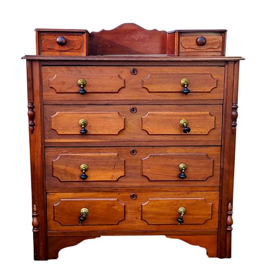Antique Victorian Dresser Renaissance Revival 1800