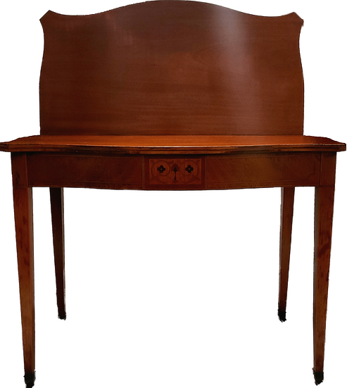 Mahogany console table, game / dining table by Extensole 1950c