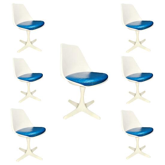 Burke Tulip Chairs  (7 pcs)