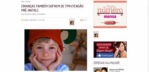 Portal vilamulher.terra.com.br