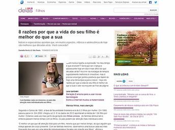 Portal delas.ig.com.br