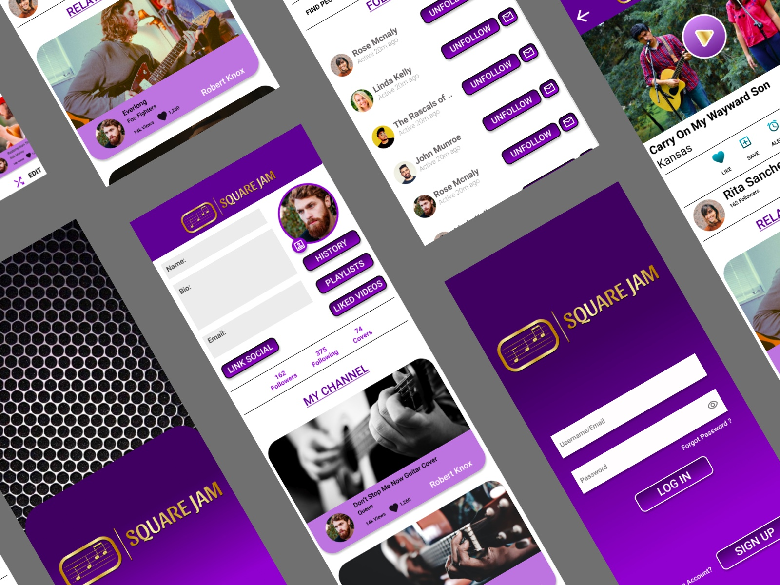 UI/UX design by kingdom app development social media app