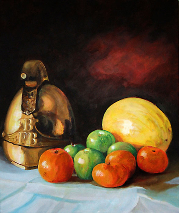 Still Life with Helmet