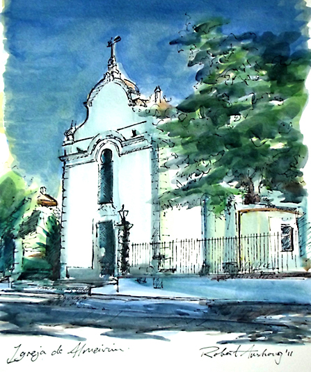 Almeirim Church (Portugal)