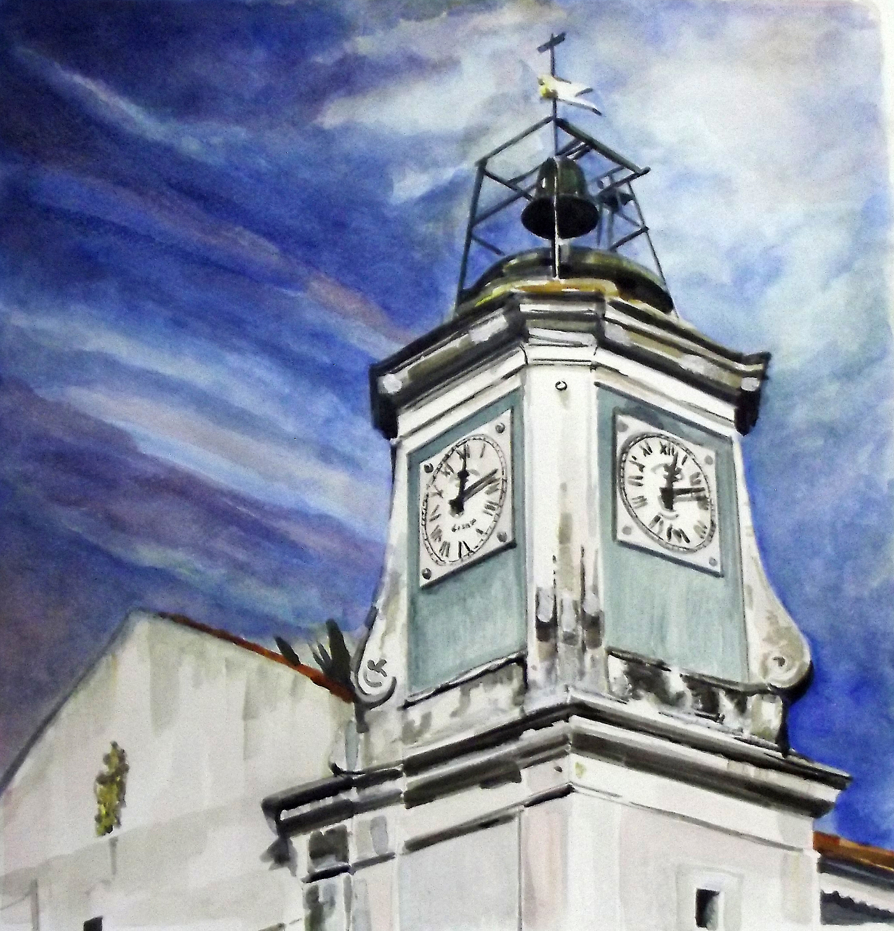 Old School Clock Tower - Almeirim